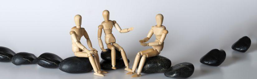 Modell Personen-Gruppe
